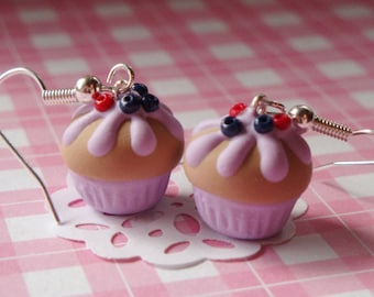 Scented Cupcake Earrings