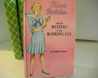 Trixie Beldon and the Mystery of the Blinking Eye ~ Vintage Books ~ Vintage Mysteries ~ Vintage Children's Books ~ Vintage YA Books