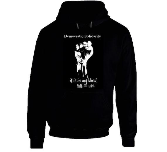 Democratic Solidarity Hoodie (Black Only)