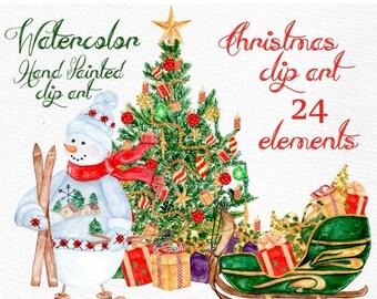 Clipart de Navidad hielo patines botas imágenes prediseñadas