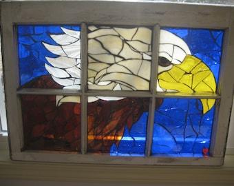 Custom made mosaic windows/frames