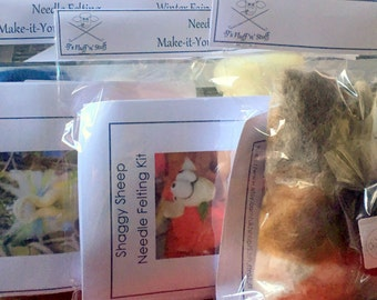 Needlefelting Add-on Kits