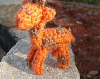 Tiny Crochet Giraffe