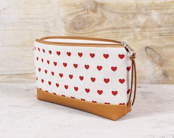 Pencil case, pencil heart