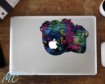 Macbook sticker mac decal macbook pro color vinyl sticker macbook air camera c003