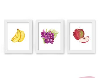 Art print - Fruits