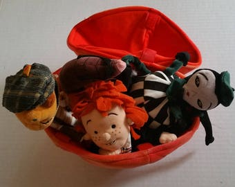 JAMES & The GIANT PEACH Disney Store Plush Set Large New With Tag Animation Disney Roald Doll Collectable Doll Toy Tim Burton Animation