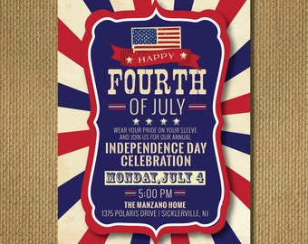 PRINTABLE | 4th of July Party