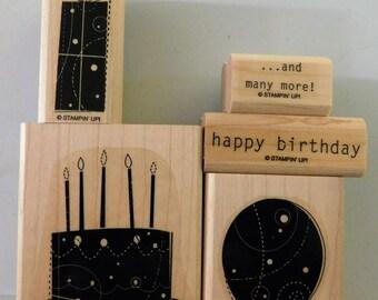 Stampin' Up! Birthday Whimsy RETIRED stamp set