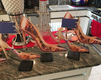 1 high heel shoes  centerpieces