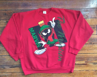 Vintage Marvin the Martian Sweater