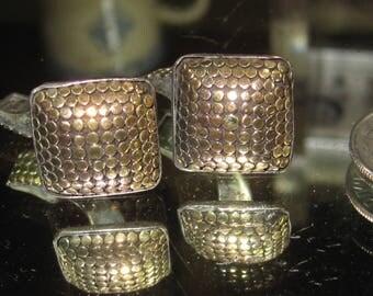 E-59 Vintage Cuff links 925 silver