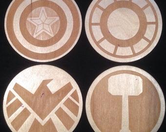 Avengers Inspired Coaster Set