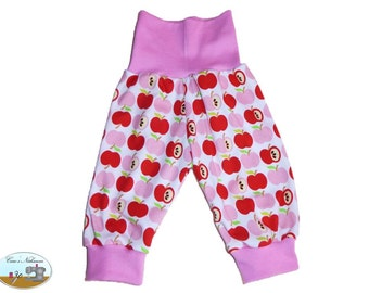 Baby bloomers red Pink White apples Apple 50-56