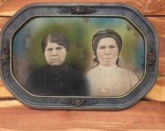 Antique Frame, Photo, Movie Prop, Farmhouse Decor