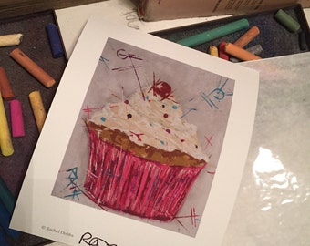 Cherry on top Cupcake #1