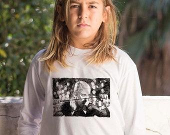 Madonna shirt, Music Fashion, Madonna tee, Children Madonna T Shirt, , Toddlers Long shirt, White Boys T shirt