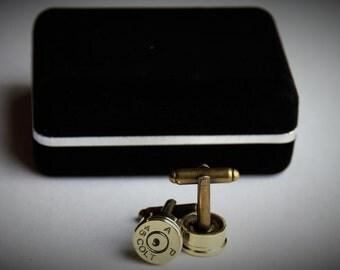 Bullet Cufflinks - Authentic Colt 45