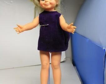 Velvet ~ Crissy Cousin ~ Ideal Doll ~ 1970s Ideal Doll ~  Velvet Doll  ~ Crissy Cousin ~  1960s Ideal Velvet Doll