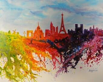 Modern Art / Drawing paint / Acrilic painting  / by Janna