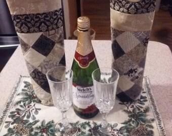 Black Tie Affair Wine Bottle Tote