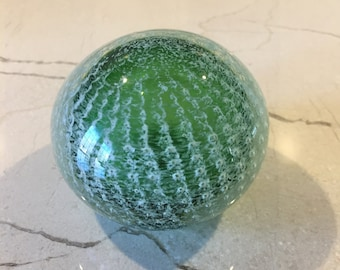 Art in Glass Cactus Look Paperweight