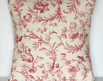 """1 x 16"""" (40cm x 40cm)Laura Ashley Ironwork Scroll Cushion Cover"""