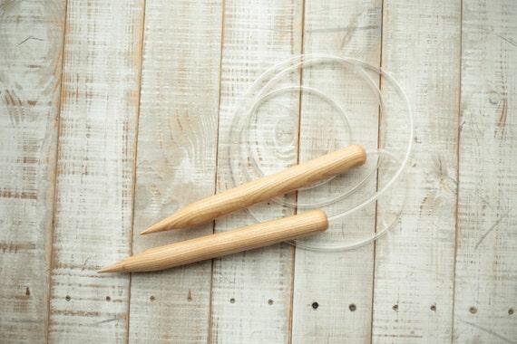25mm size 50 knitting needles, Woolaty us 50 circular ...