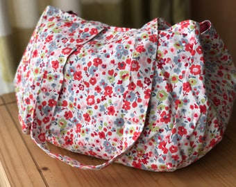 Floral beachbag