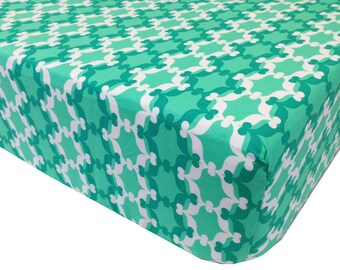 reg. price 26.00 Moroccan Mint Crib Sheet