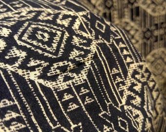 100% Italian made Rayon Fabric per yard Mandala slate
