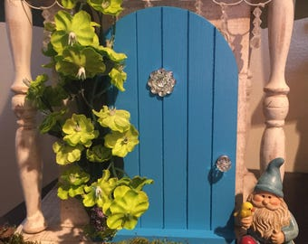 Miniature Fairy Door, Spring Collection Fairy Door, Gnome Door, Miniature Door, Garden Door