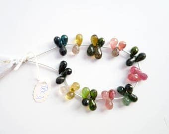 Tourmaline Faceted Drops (TRK31)