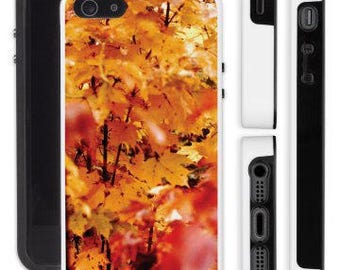 iPhone, Samsung, protective cell case, photography of autumn on fire, photo autumn leaves, photo autumn colors, photo autumn leaves