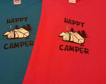 Happy Camper Kids Shirt