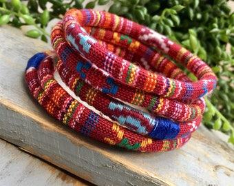 5 ethnic bangles