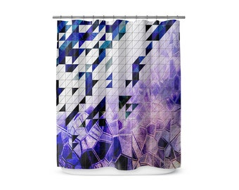 From The Right Angle - Shower Curtain