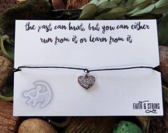 Friendship Bracelet Lion King Gift