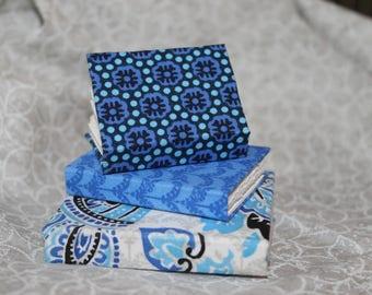 Miniature Blue Handmade Journal Set