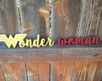 Wonder Woman cutout