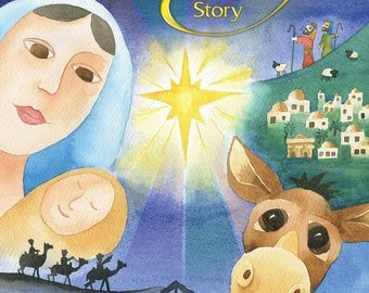 The Little Donkey and the Nativity Story - Softback