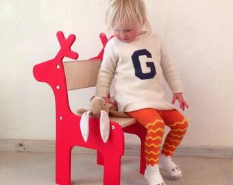 Stag / Deer/ Reindeer Children's Chair
