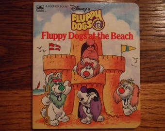 Disney's Fluppy Dogs At The Beach (1986, board book)