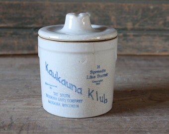Kaukauna Klub cheese crock
