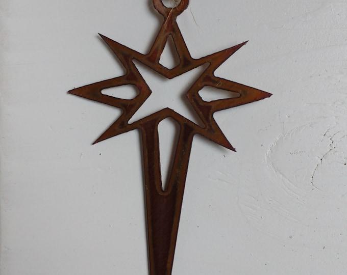 Copper Star of David Ornament