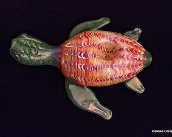 Colorful Sea Turtle Pipe (Glass)