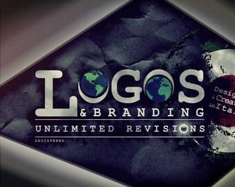 Custom Logo & Branding Professional Designing Service Vector Graphic Design, Web Design