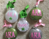Alpha Kappa Alpha Ornament