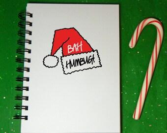 Bah Humbug! Notebook/Journal