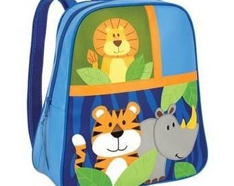 Zoo Animal Preschool Backpack - embroidered free.